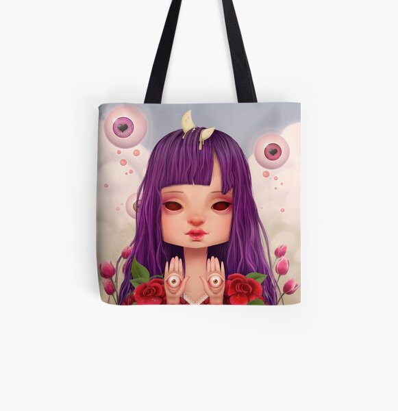 Mystica All Over Print Tote Bag