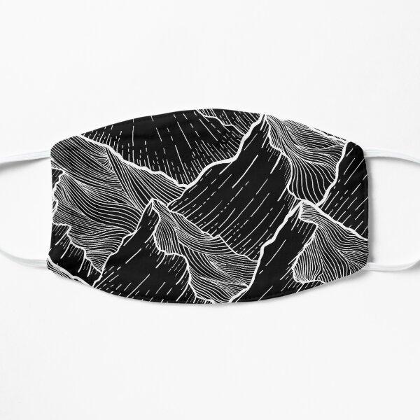 Sea Mountains Flat Mask