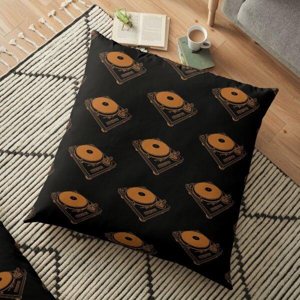 Turntable Pattern Floor Pillow