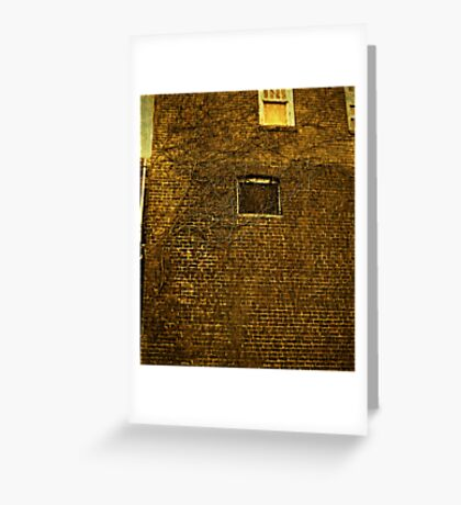 Old Building - Textured Greeting Card