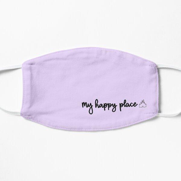 my happy place Flat Mask