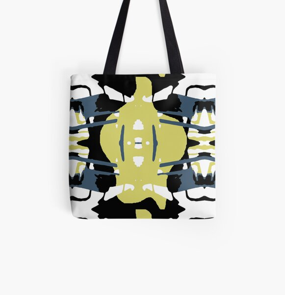 Bull or plant Allover-Print Tote Bag