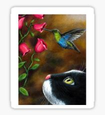 Cat 571 Hummingbird Sticker