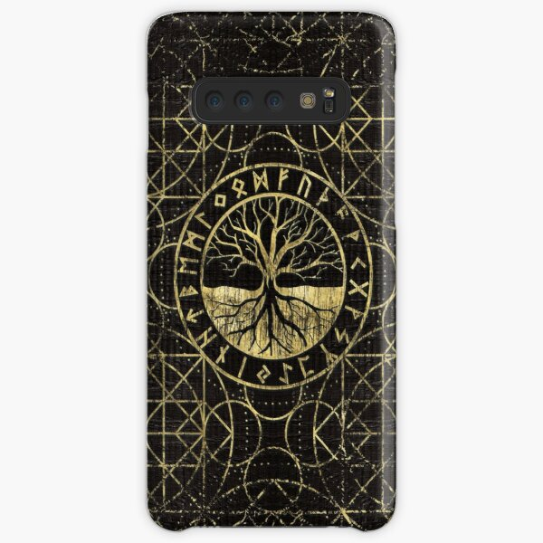 Tree of life  -Yggdrasil and  Runes  Samsung Galaxy Snap Case