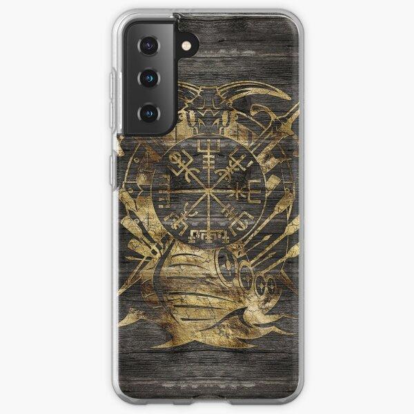 Vegvisir - Compas de navigation Viking Coque souple Samsung Galaxy