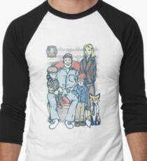 Anderson Family Portrait Men's Baseball ¾ T-Shirt