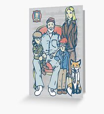Anderson Family Portrait Greeting Card