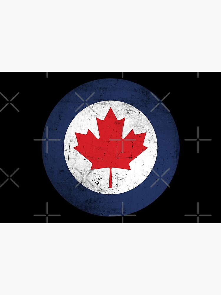 Canada Air Force Roundel Distressed by Beltschazar