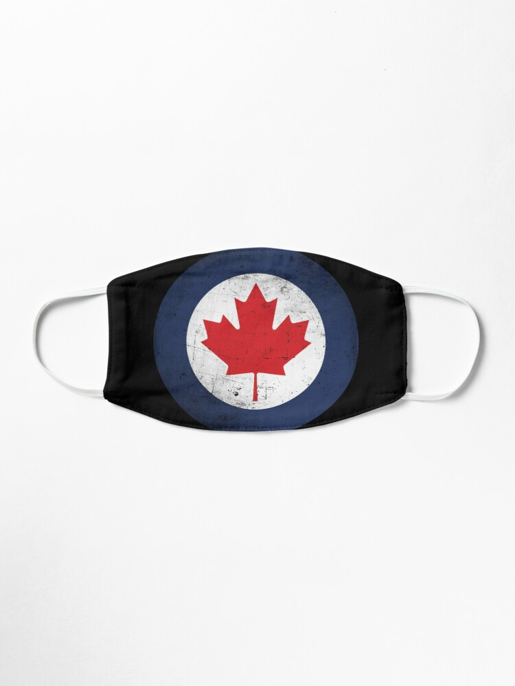 Alternate view of Canada Air Force Roundel Distressed Mask