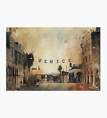 Venice, The most expensive slums on earth. Photographic Print