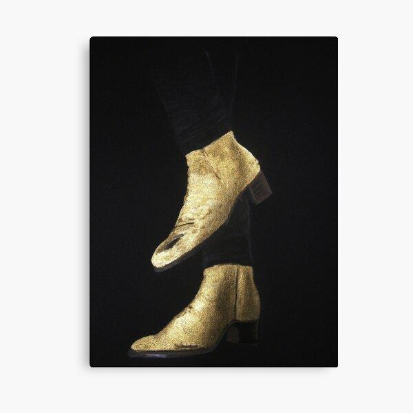 Golden Boots Wall Art Redbubble
