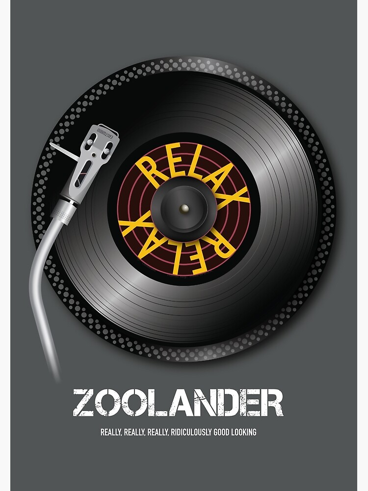 Zoolander - Alternative Movie Poster by MoviePosterBoy