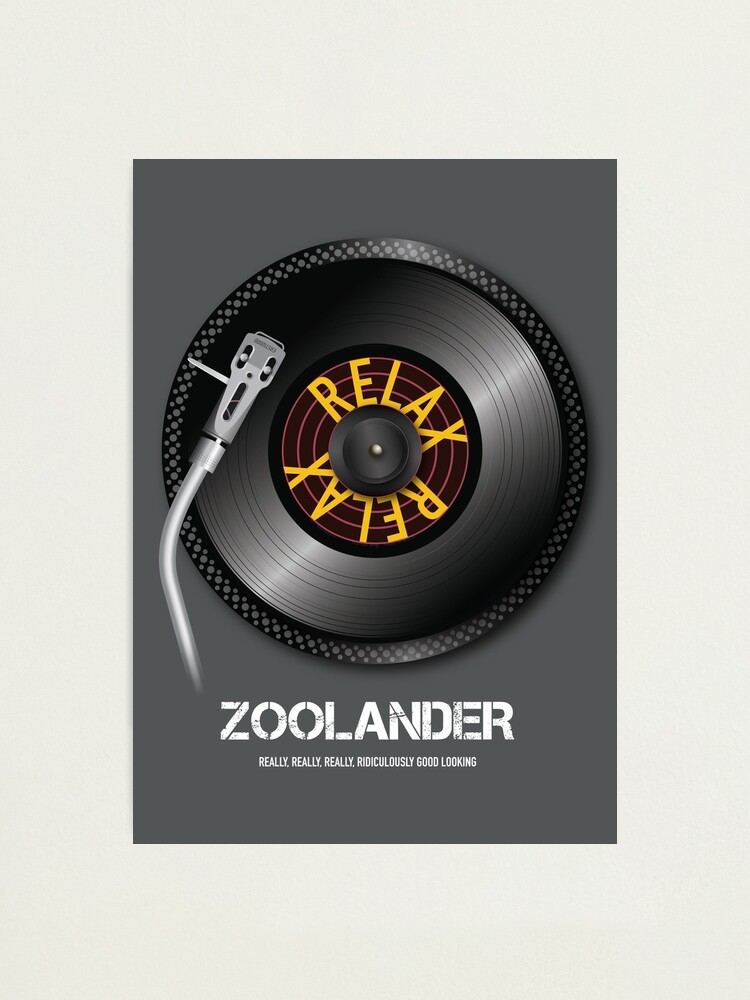 Alternate view of Zoolander - Alternative Movie Poster Photographic Print