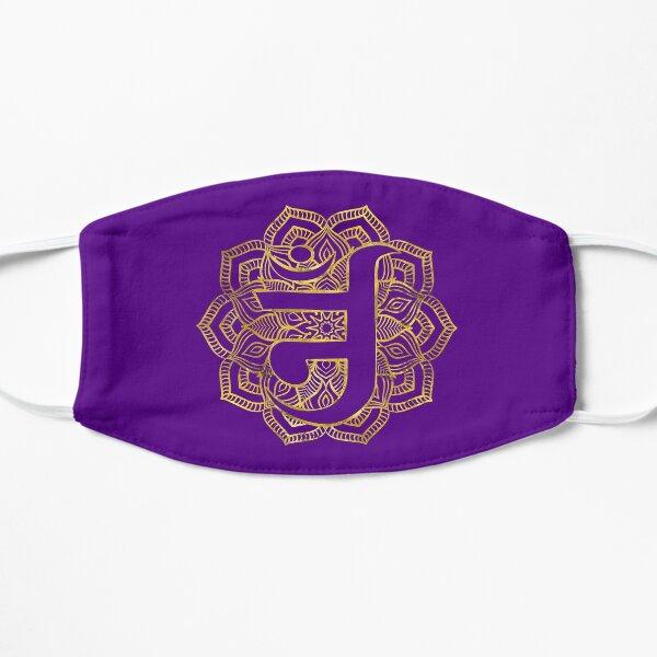 Jain Om - Jain symbol Flat Mask