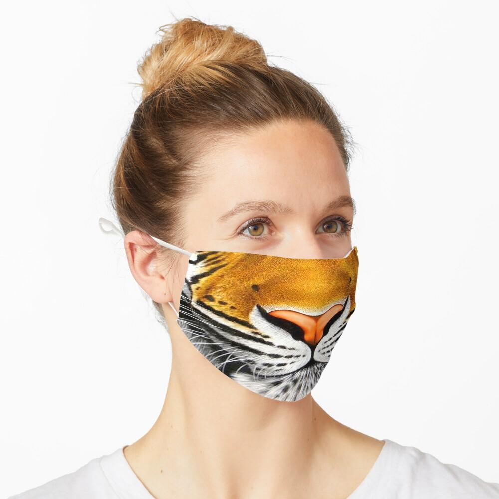tiger face   3D tiger  Mask