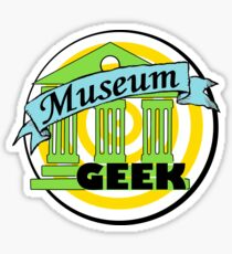 Museum Geek  Sticker