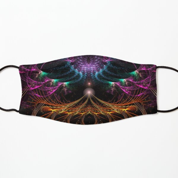 Psychedelic Fractal Circus Kids Mask