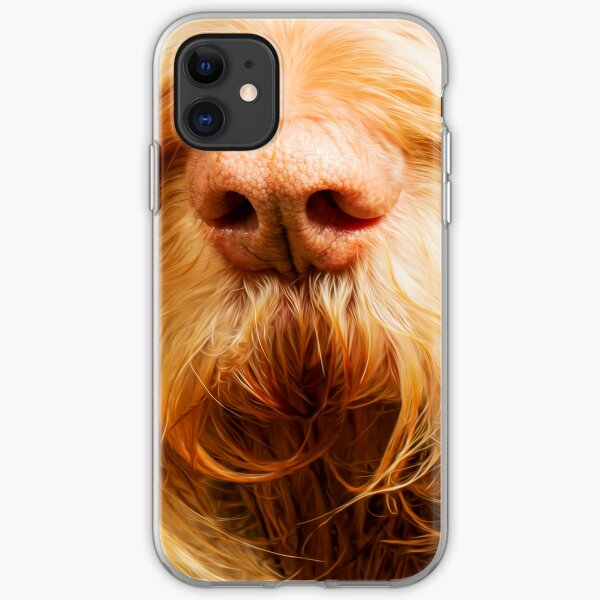 Soft Spinone Nose iPhone Soft Case