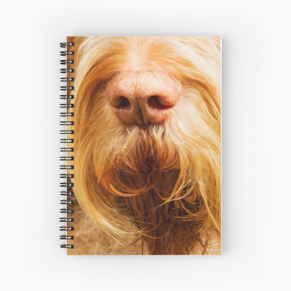 Soft Spinone Nose Spiral Notebook