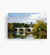 Bridge Landscape Canvas Print