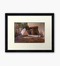 Olive Press, Campell, Spain Framed Print