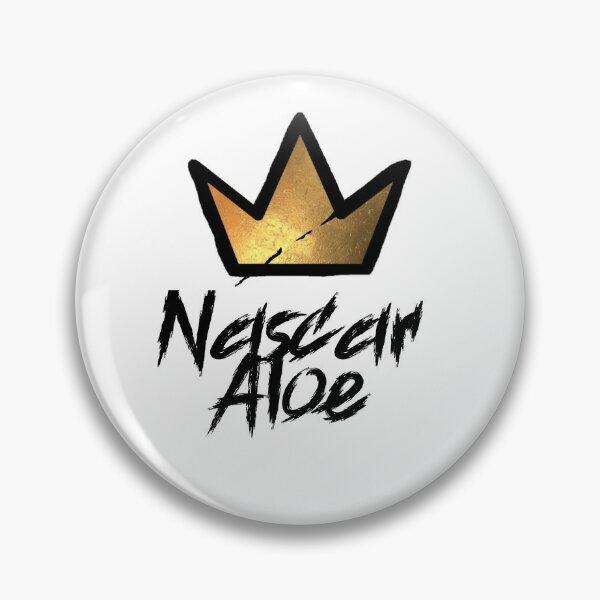Nascar Aloe Tag & Graffiti Crown Pin