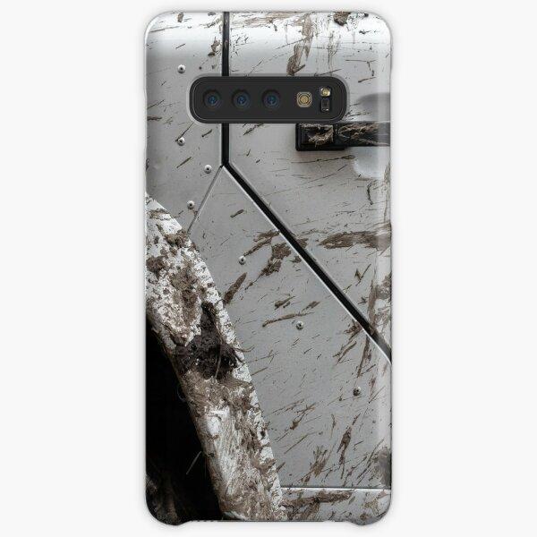 mud on a silver Defender Samsung Galaxy Snap Case