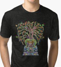 Aztec World Tree Tri-blend T-Shirt