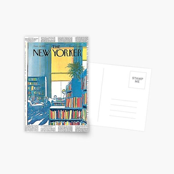 Vintage New Yorker Magazine Cover 1968 Postcard