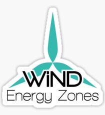 Wind Energy Zones Sticker