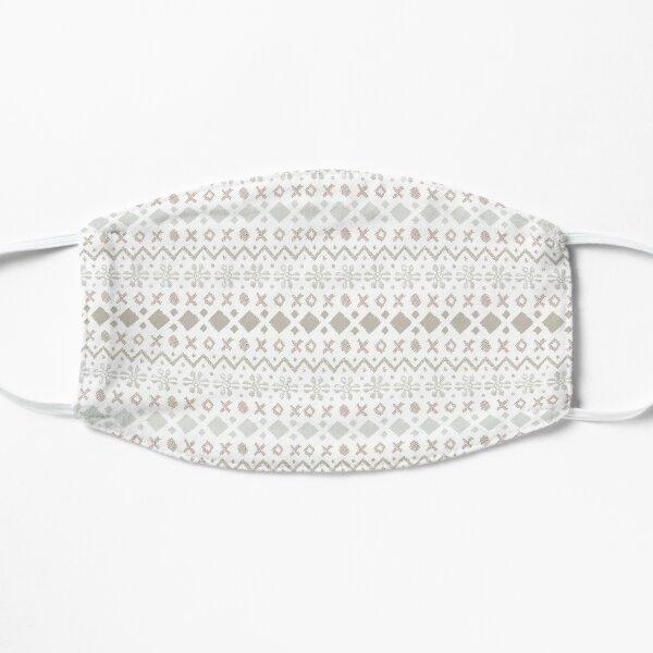 Fairisle Tactile Flat Mask