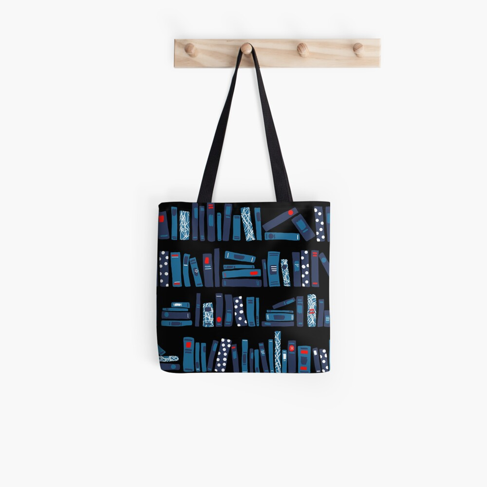 Keep Reading. Black. Tote Bag