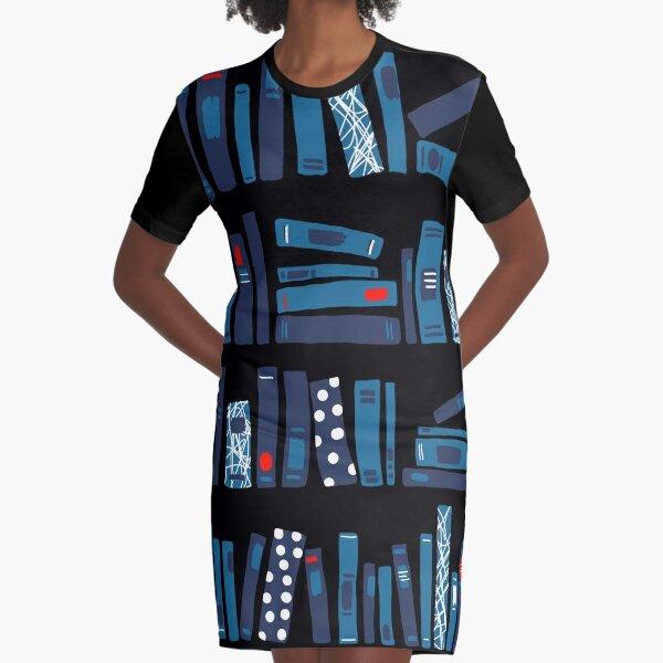 Keep Reading. Black. Graphic T-Shirt Dress