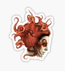 Octoheart Sticker