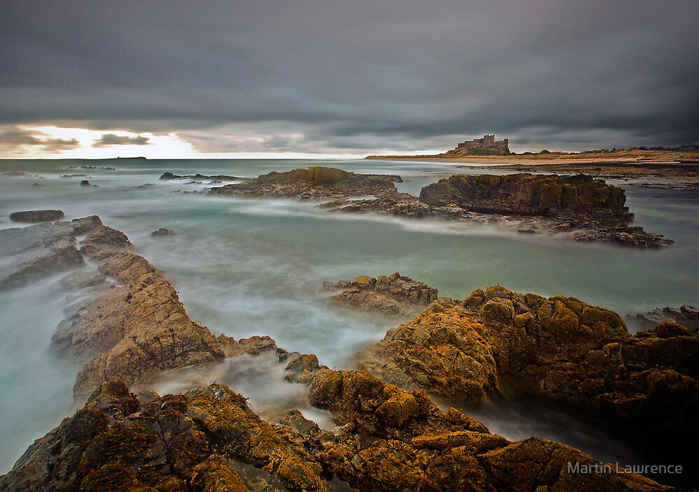 Stormy Skies over Bamburgh Castle, Northumberland by Martin Lawrence