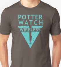 Potterwatch Wireless (Distressed Version) Unisex T-Shirt