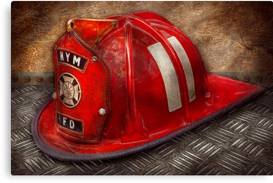 Fireman - A childhood dream by Mike  Savad
