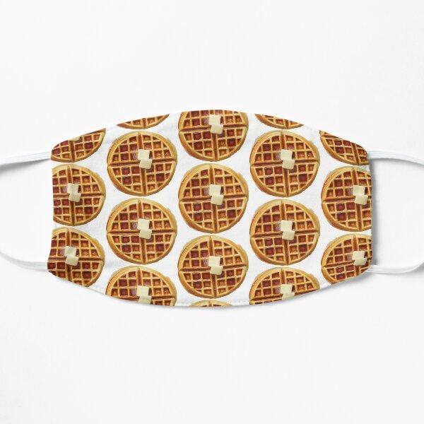 Waffle Breakfast Pattern Mask