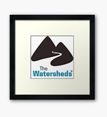 The Watersheds Framed Print