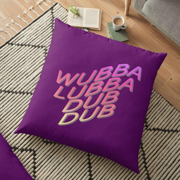 Rick Sanchez Morty, Wubba Lubba Dub Dub Floor Pillow