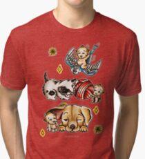Kewpies & Baby Animals Flash  Tri-blend T-Shirt