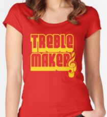 Treblemakers Women's Fitted Scoop T-Shirt
