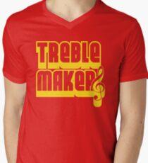 Treblemakers Men's V-Neck T-Shirt