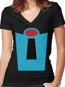 Vintage Mr. Incredible Women's Fitted V-Neck T-Shirt