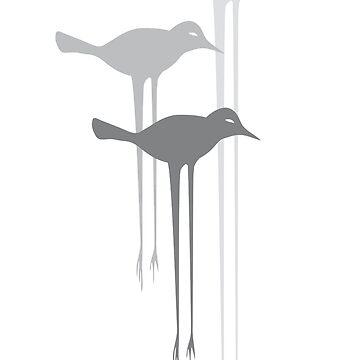not quite blackbirds by hwiddy