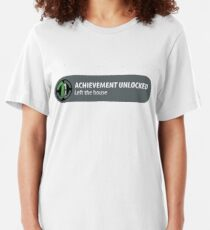 Camiseta ajustada Logro desbloqueado