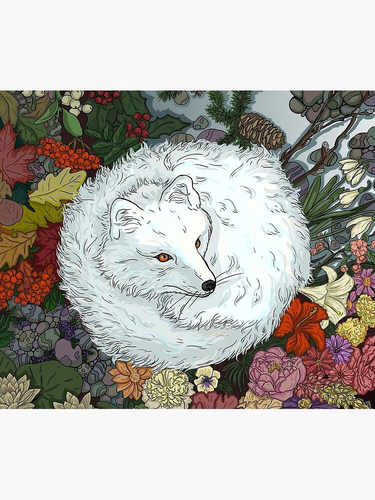 Arctic Fox by beesants
