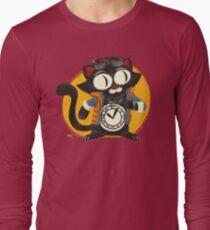 Time-Cat Long Sleeve T-Shirt