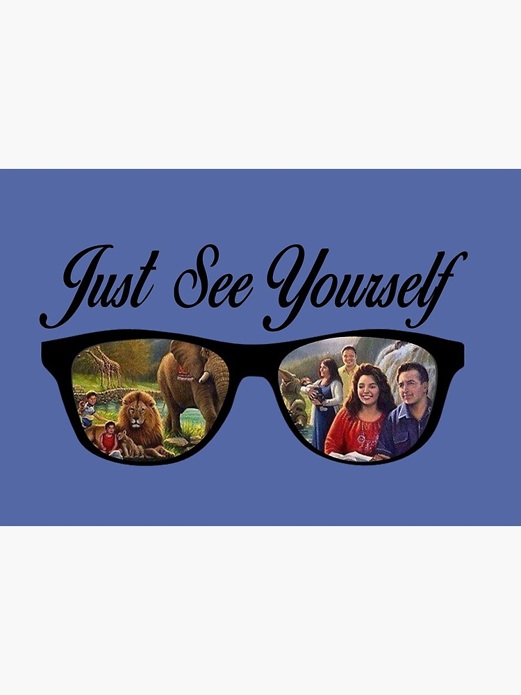 JW.ORG JW Face Mask for Jehovah's Witnesses Just See Yourself JW by PioneerBros