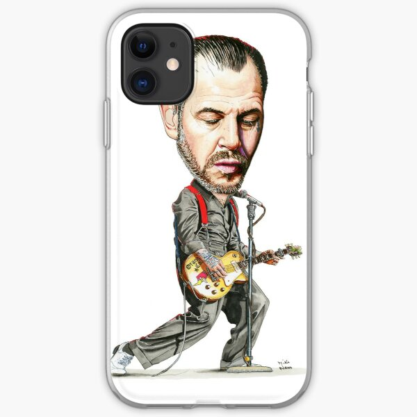 Mike Ness - Social Distortion iPhone Soft Case